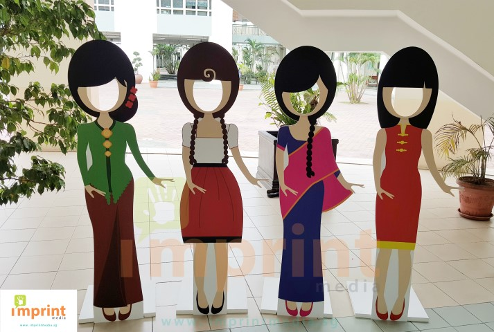 Standee Displays Singapore Imprint Media